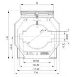 ASK 101.4 1600/1A 10VA Kl. 1 Stromwandler