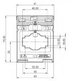 ASK 41.3 800/5 10 VA Kl. 1 Stromwandler
