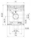 ASK 421.4 50/1 Kl. 1  2,5 VAStromwandler