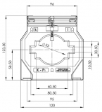 ASK 81.4 2000/1 10VA Kl. 1 Stromwandler