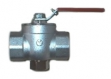 Ball valve with internal screw thread G3/4A