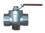 Ball valve with internal screw thread DN 25