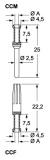 Crimpkontaktbuchse - 1,0MM² - versilbert - 16A