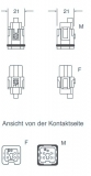 BUCHSENEINSATZ-SCHRAUB-4P-SCHWARZ-10A