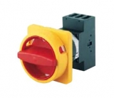 Main/Emergency-Off Switch - 3 pole - N-padlock device - 40A