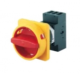 Main/Emergency-Off Switch - 3 pole - N-padlock device - 25A