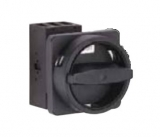 Main Switch - 3 pole - N-padlock device - black - 32A